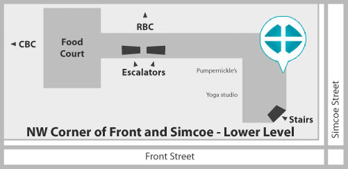 Indoor Map of Simcoe Health Place Clinic