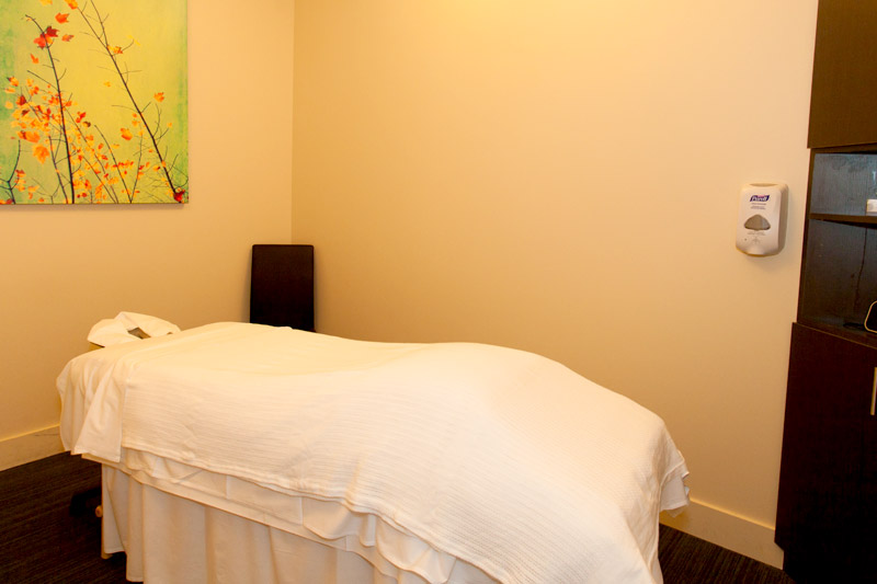 Massage Room at Simcoe Health Clinic